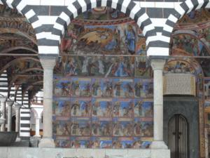 Main katholikon, southern portico